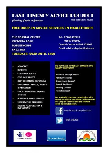 East Lindsey Advice Project