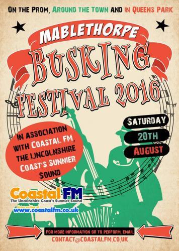 Mablethorpe Busking Festival 2016